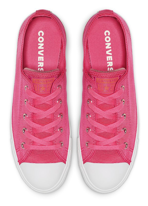 Converse розови кецове Chuck Taylor All Star Dainty Ox Strawberry Jam