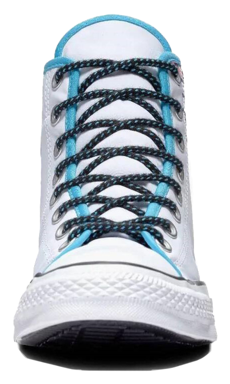 Converse бели мъжки кецове Chuck Taylor All Star Hi White/Gnarly Blue