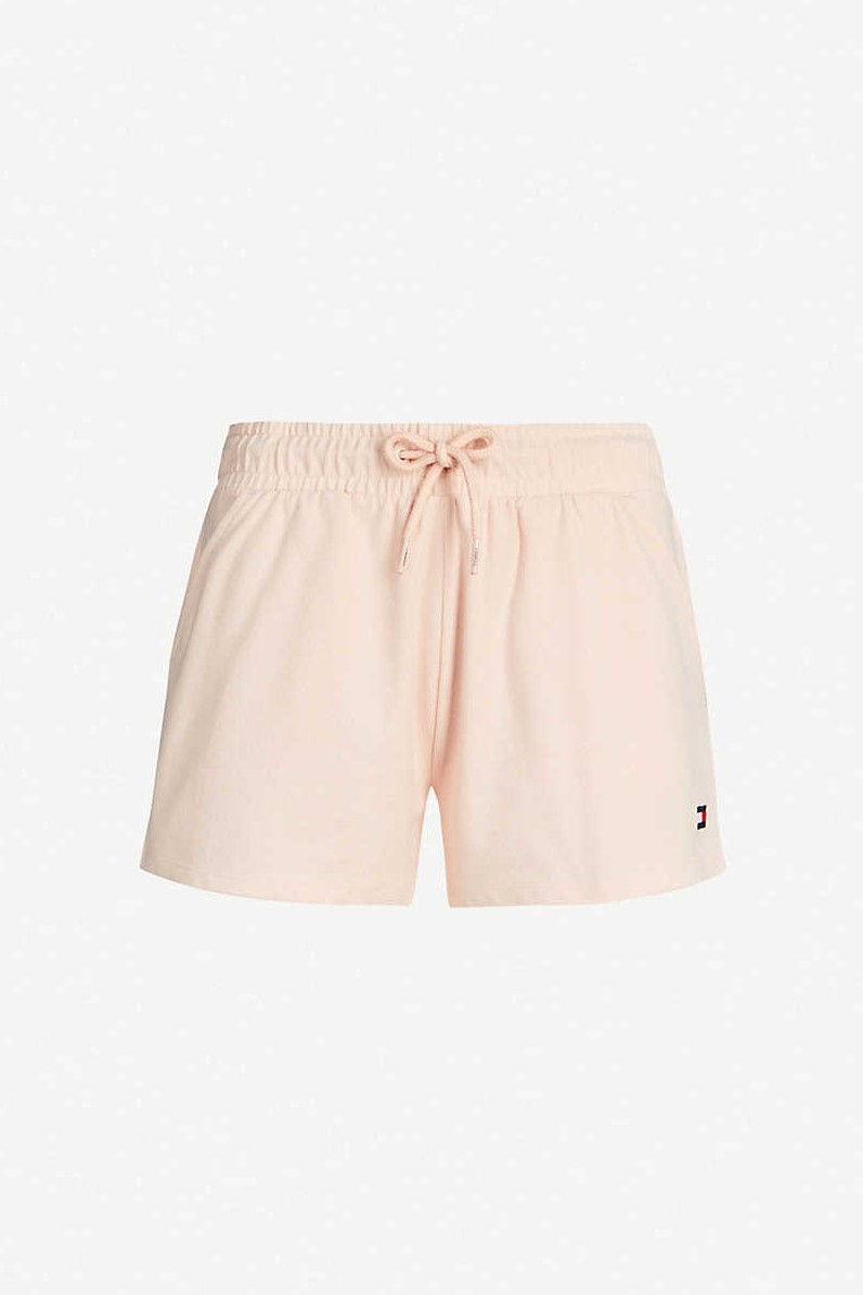 Tommy Hilfiger пудрови шорти Short Pale Blush