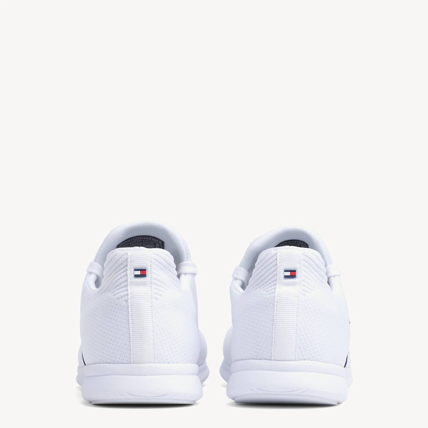 Tommy Hilfiger бели кецове Knitted Flag Light Sneaker White