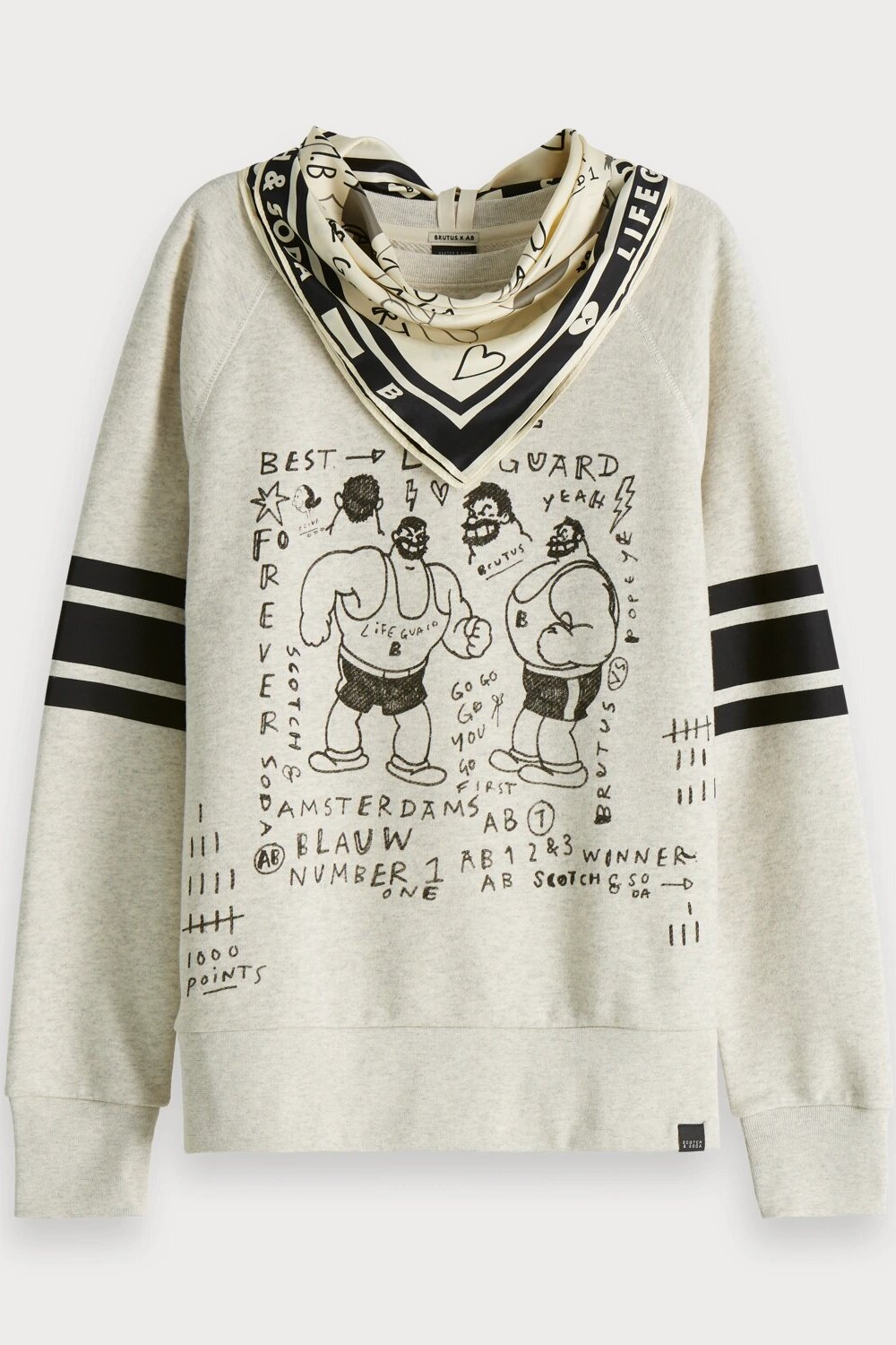Scotch & Soda суитчър Sweats Popeye the Sailor