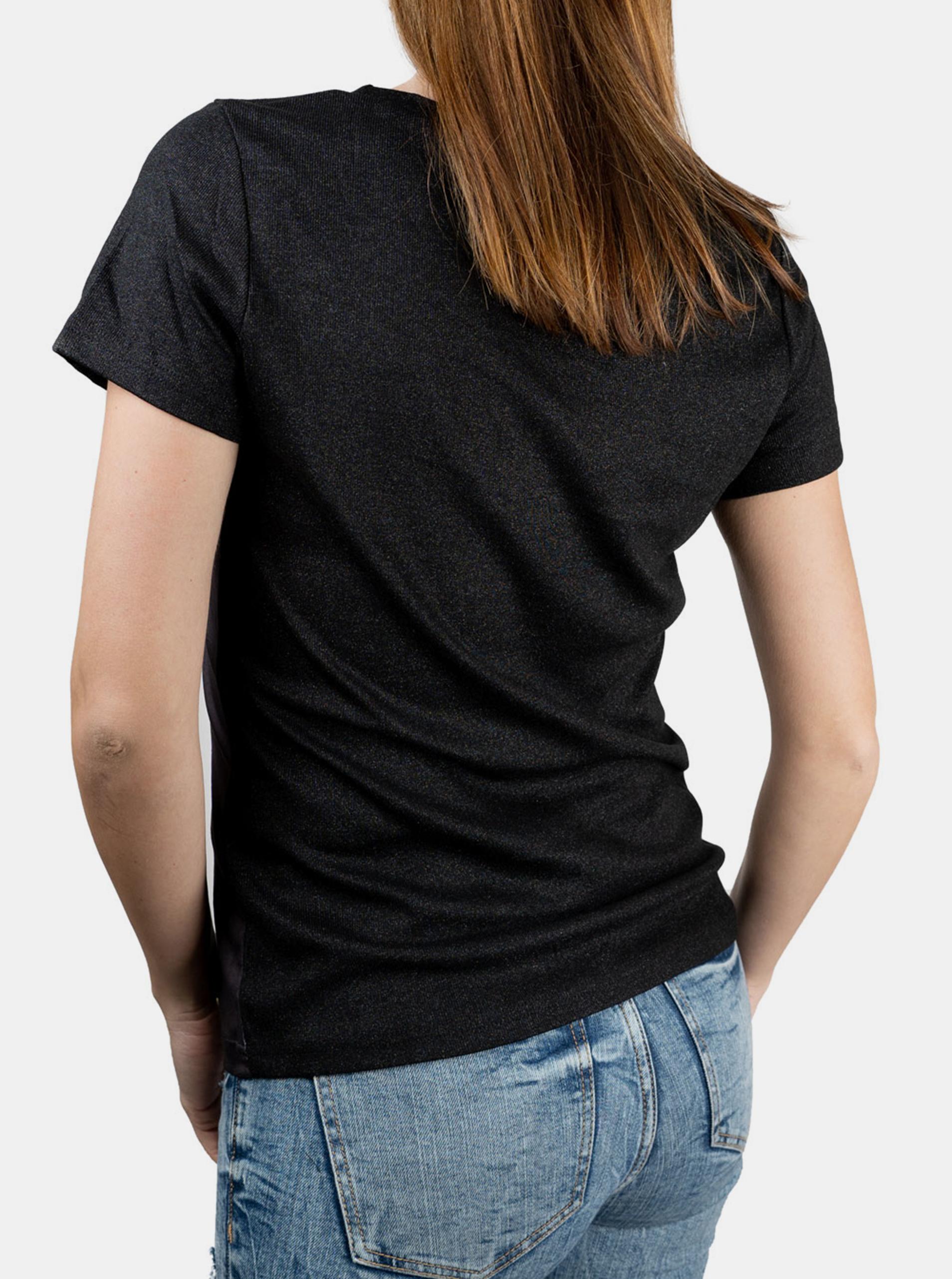 Culito from Spain  черна тениска Laura Pausini
