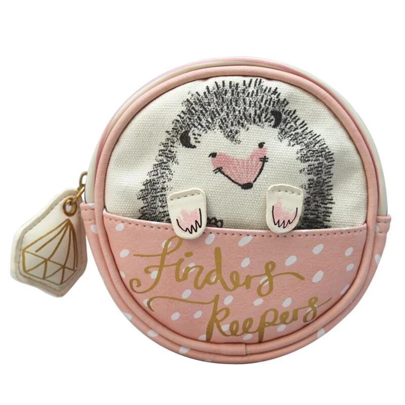 Disaster малка козметична чанта Over The Moon Hedgehog