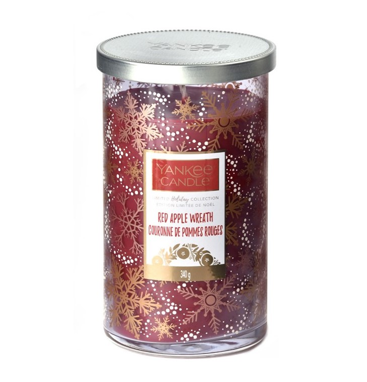 Yankee Candle ароматна свещ Red Apple Wreath Limited Декоративна среда