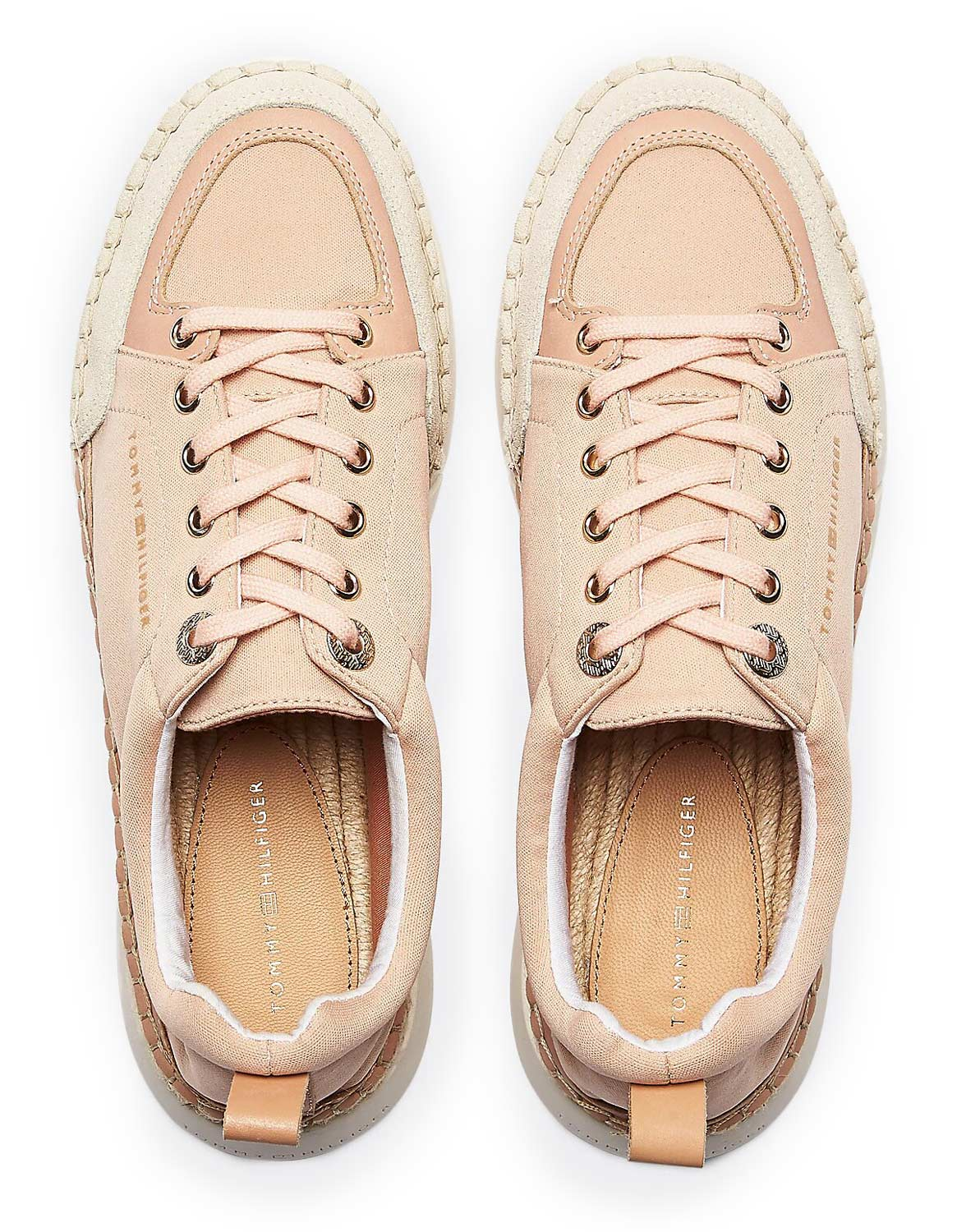 Tommy Hilfiger кецове Sporty Lace up Espadrilles