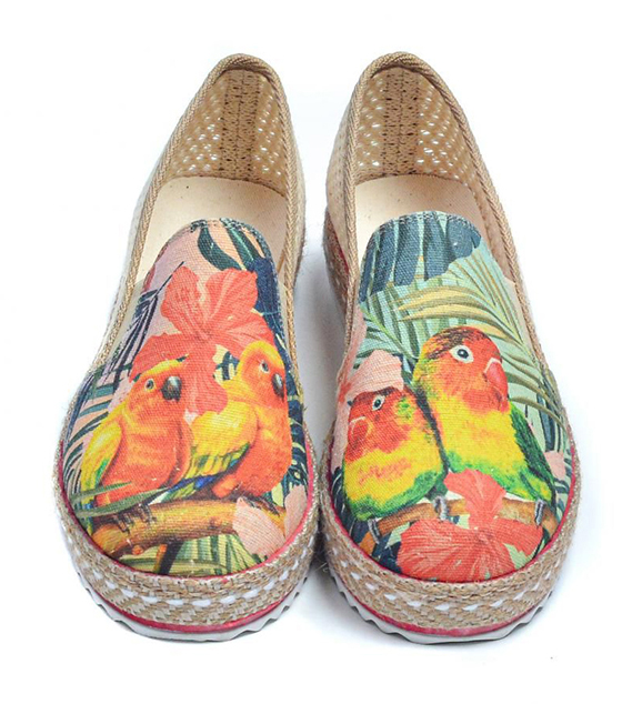 Goby цветен slip on Exotic