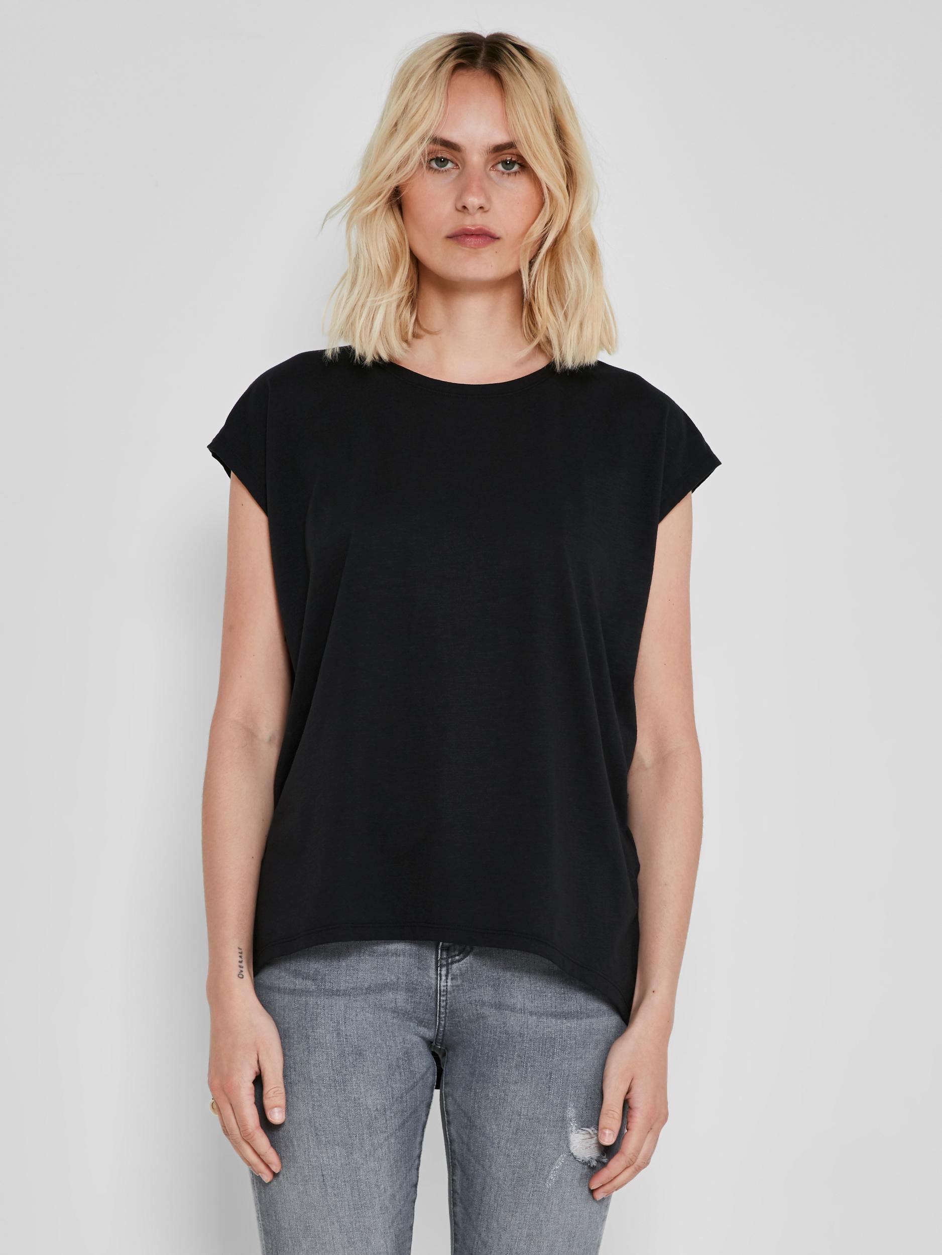 Черна основна тениска Noisy May Mathilde