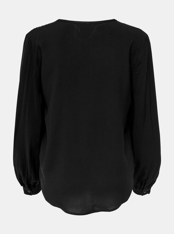 Черна свободна блуза Жаклин де Йонг Арос
