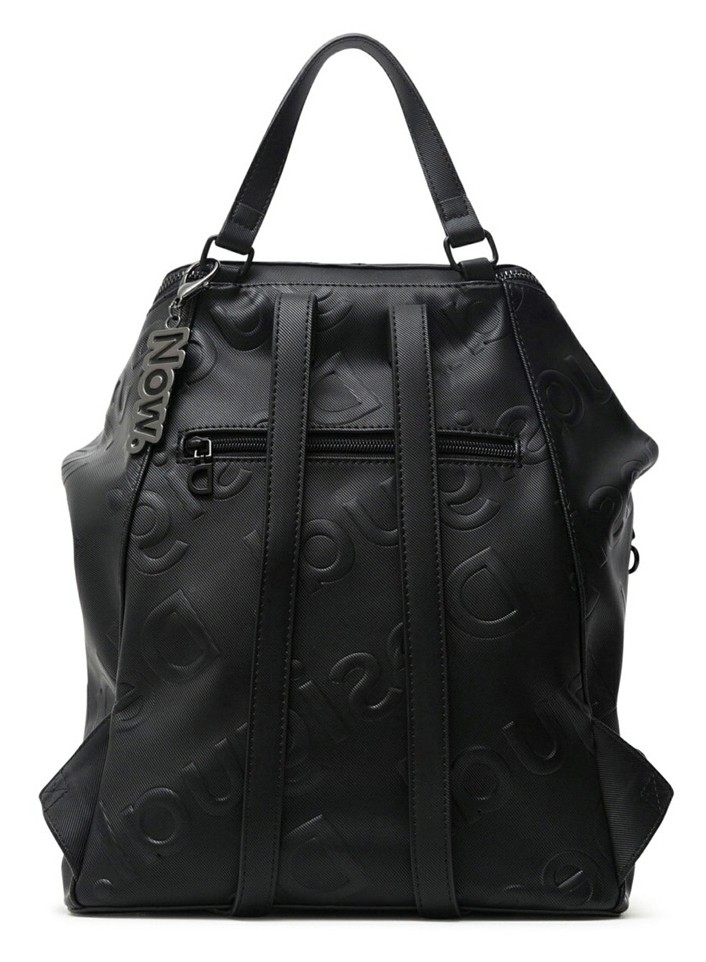 Desigual черни раница Back Colorama Loen Black