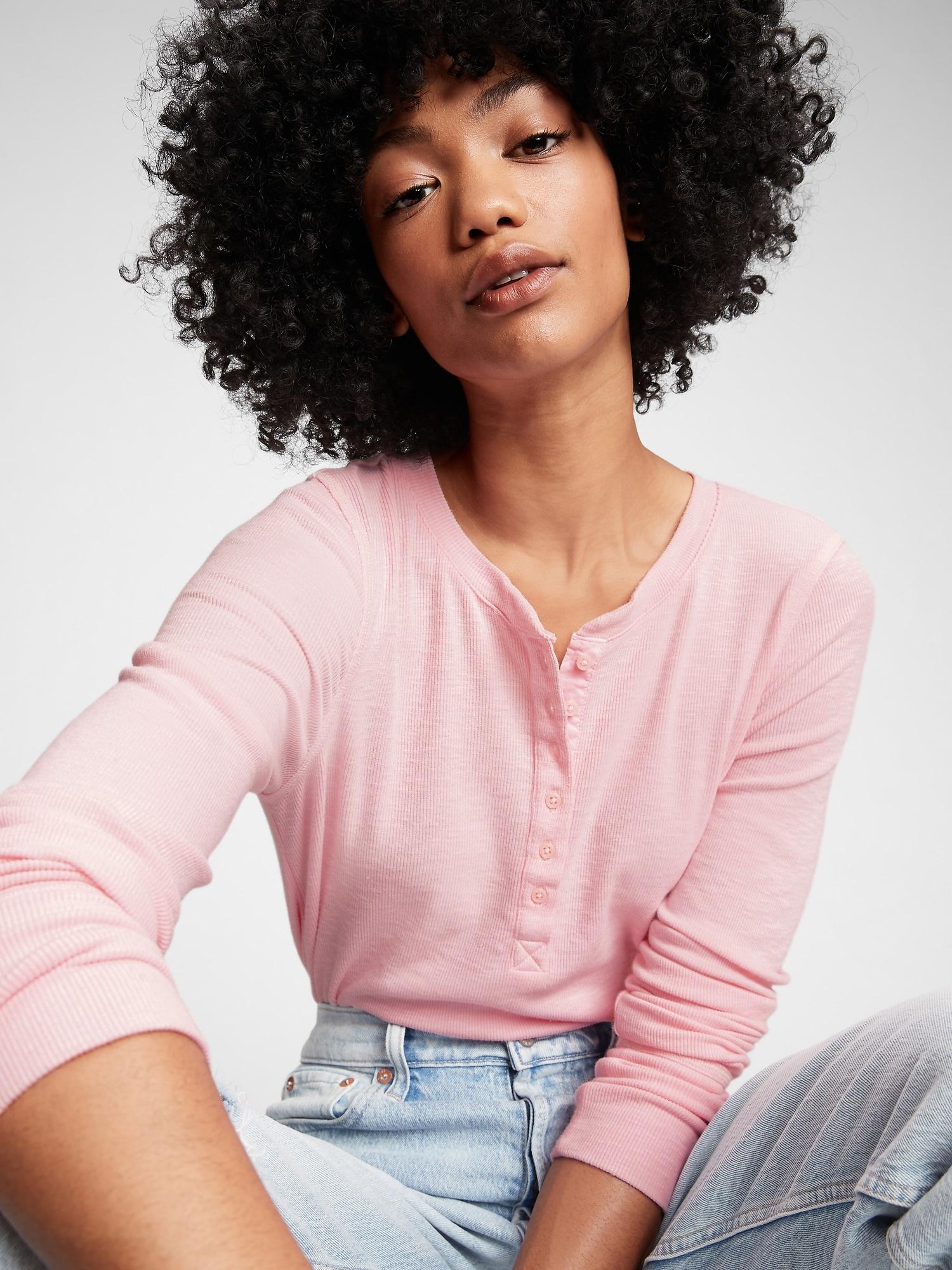 GAP розова риза