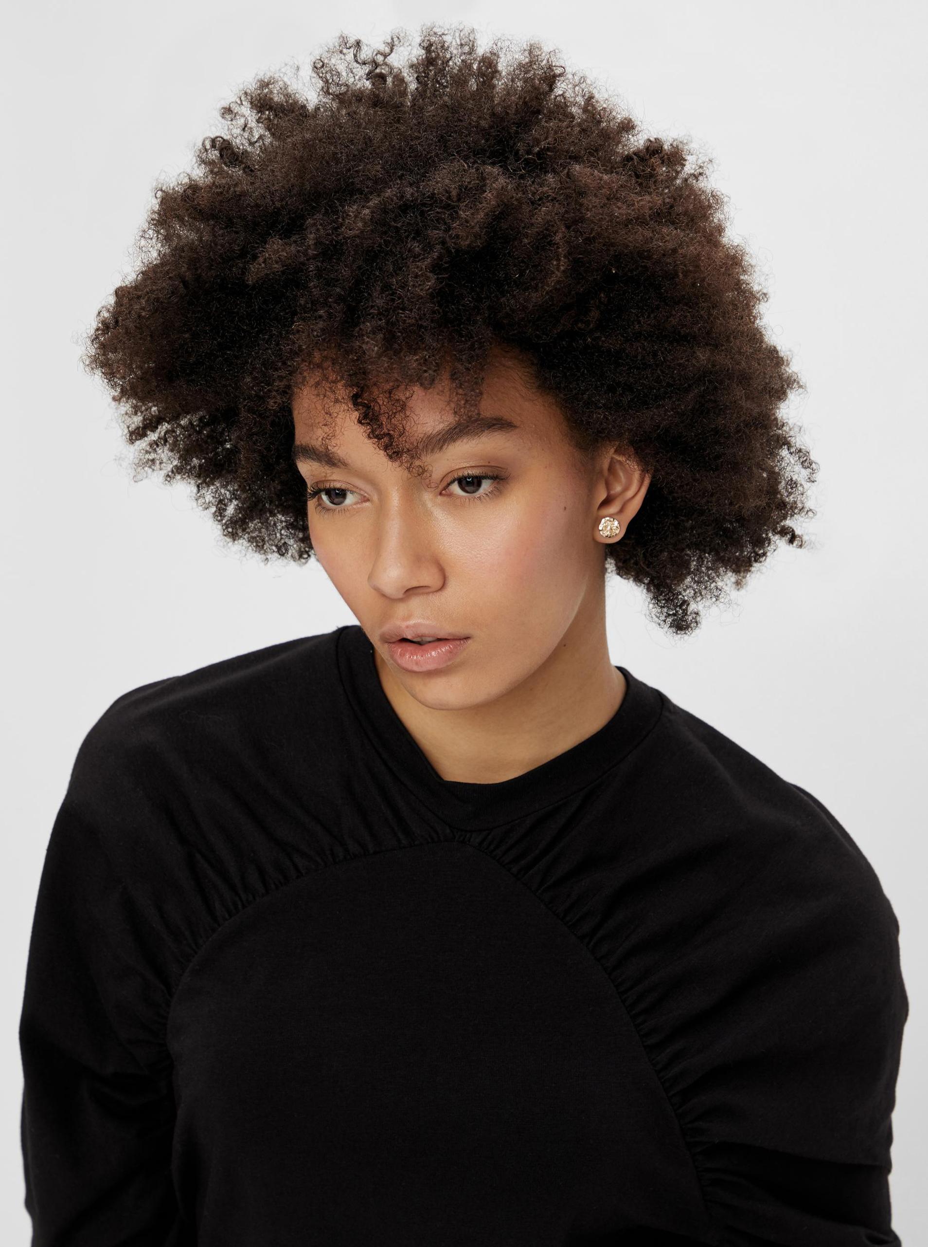 Pieces черни женски риза