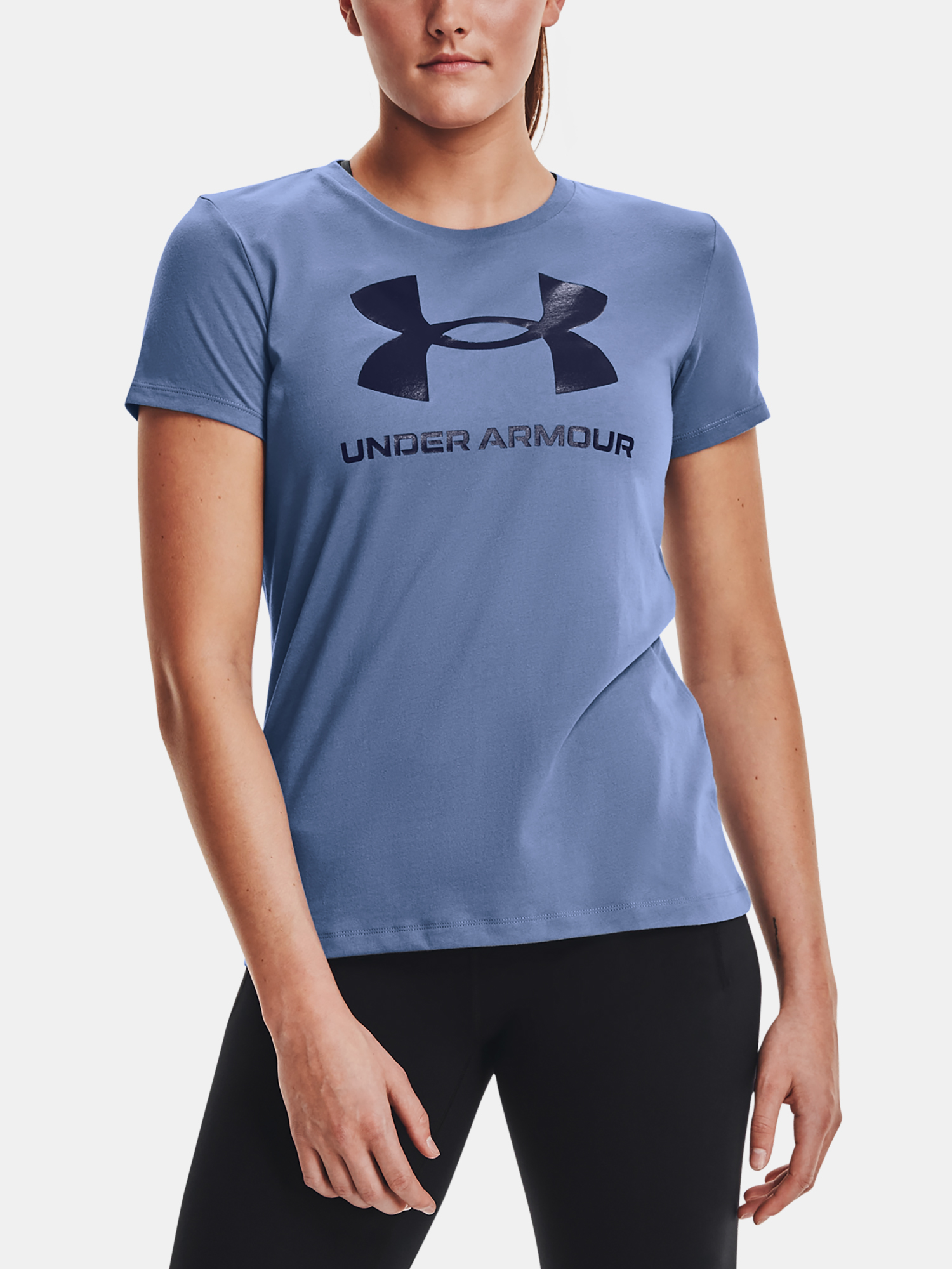 Under Armour женски риза Live Sportstyle Graphic SSC-BLU