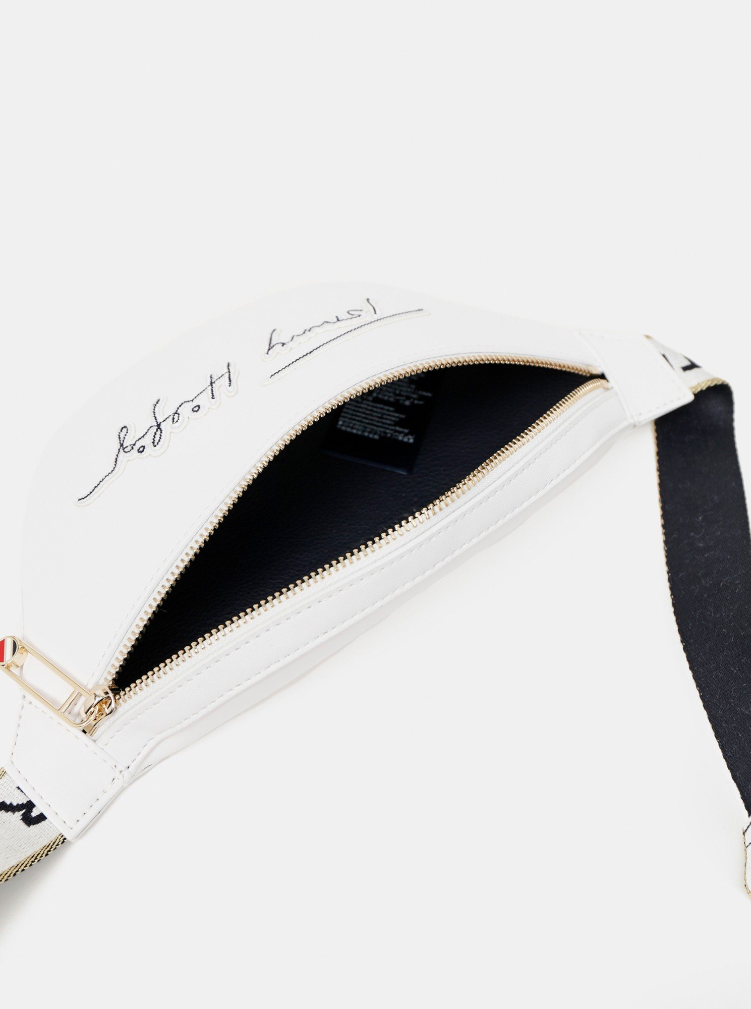 Tommy Hilfiger бели талия Iconic Tommy Bumbag