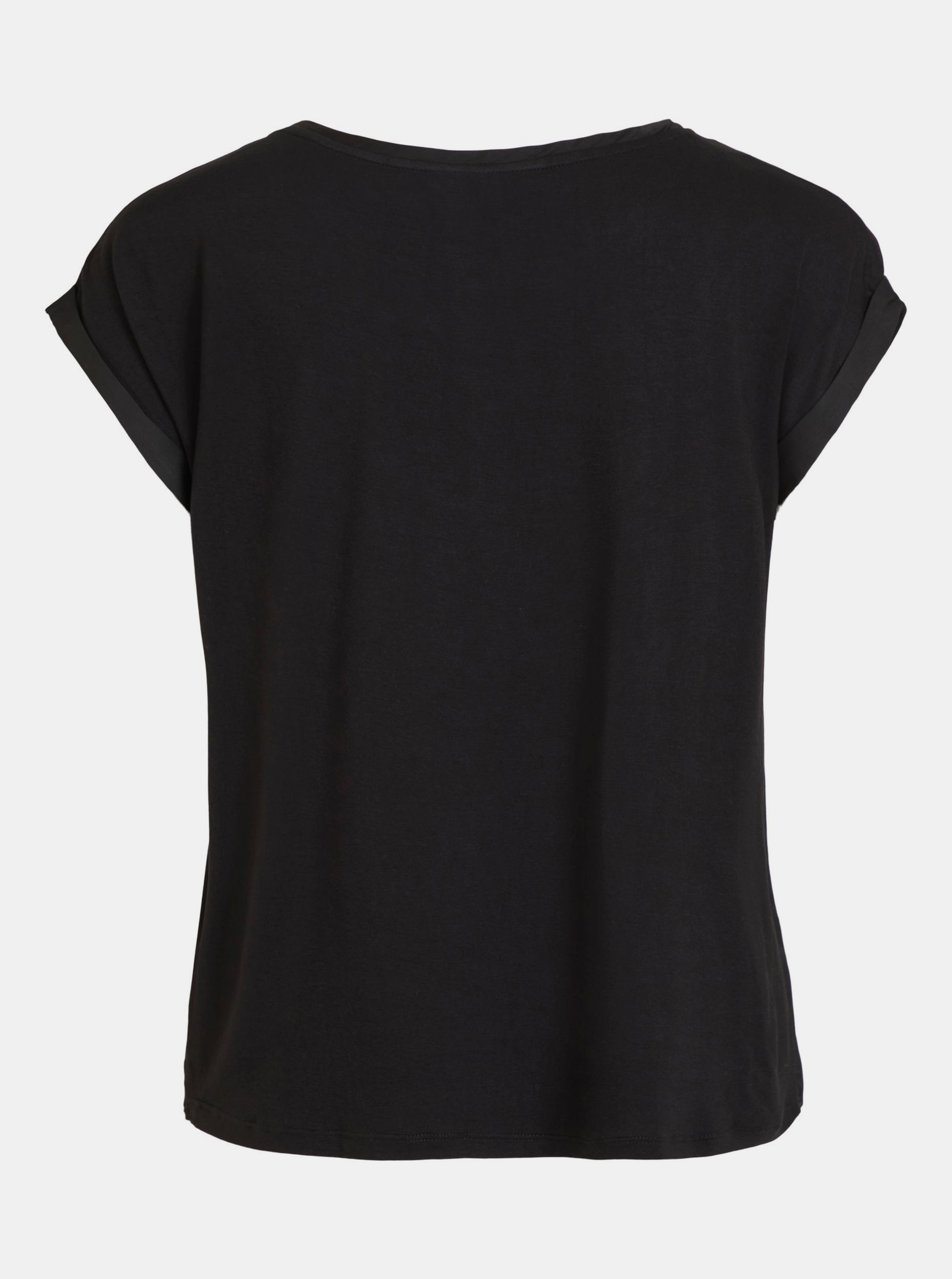 Vila черна блуза