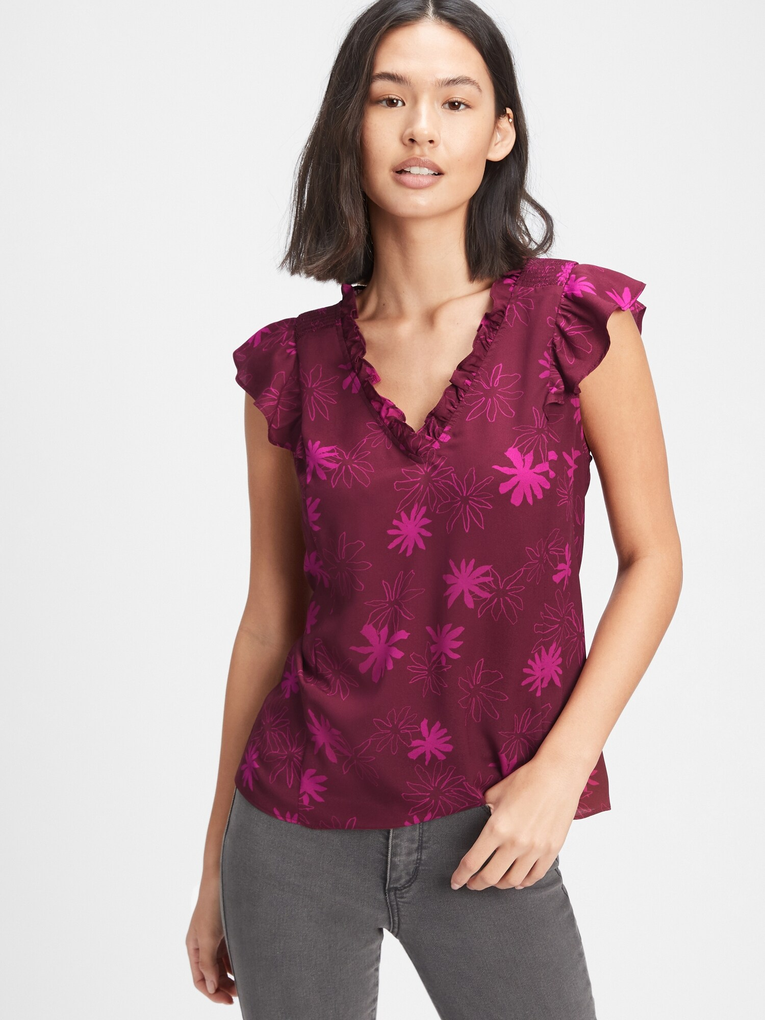 GAP лилави женски риза