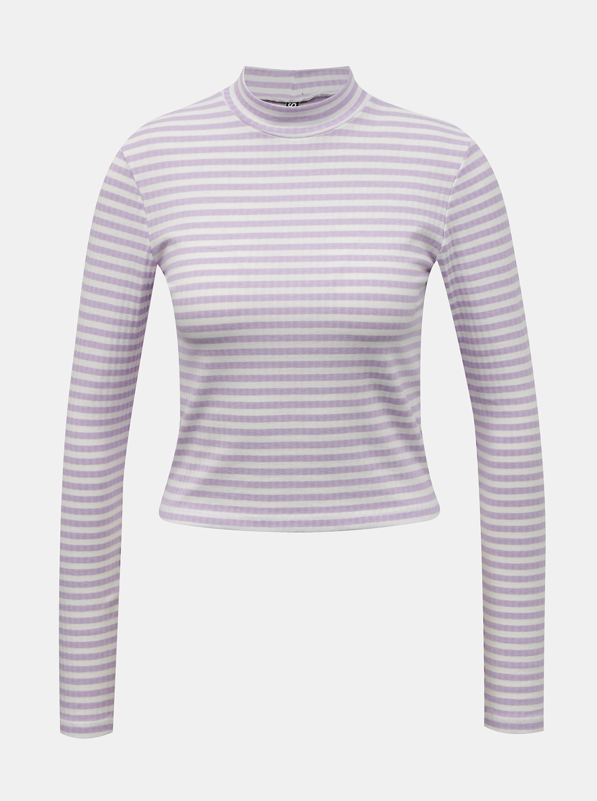 Pieces лилави женски риза Raya