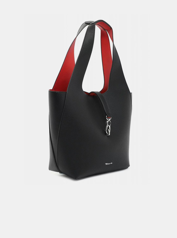 Tamaris черна двустранни shopper