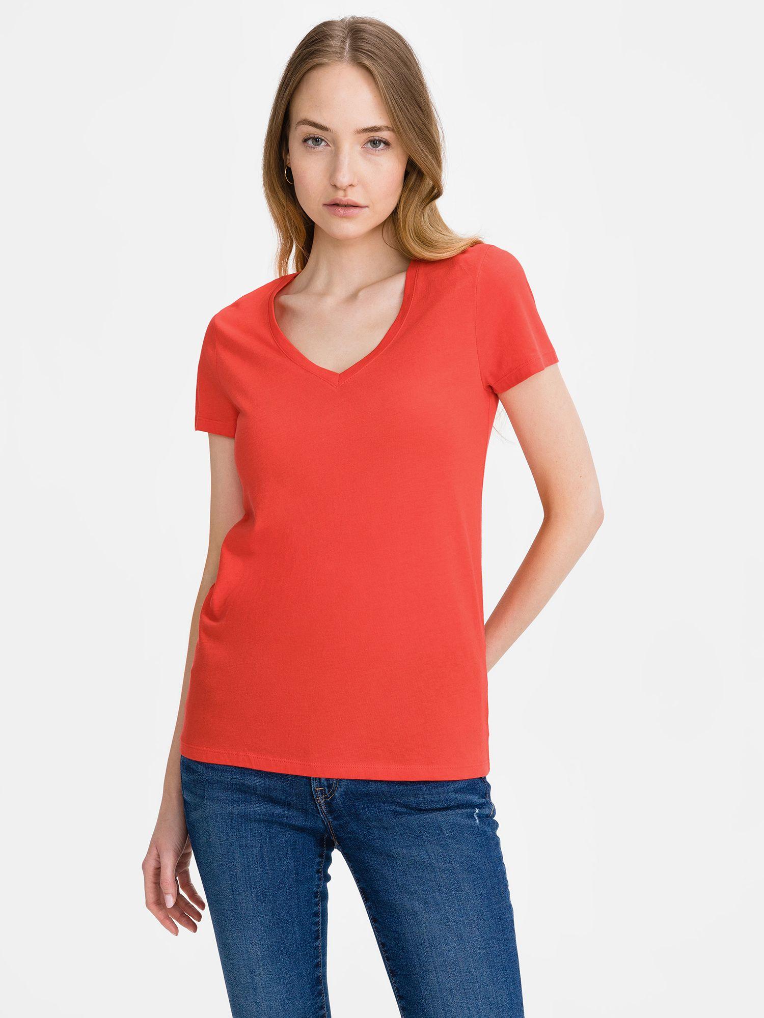 GAP червена риза Favorite